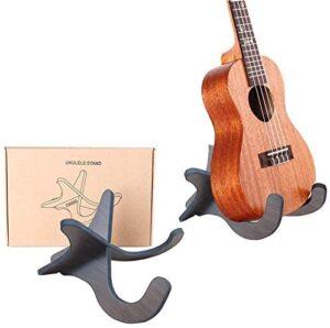 TIHOOD Wooden Guitar Stand Holder