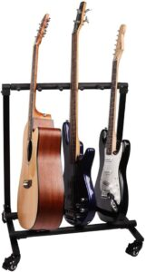 Mr.Power 5 Guitar Rolling Stand