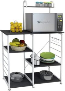 DlandHome Microwave Cart Stand Bakers Rack