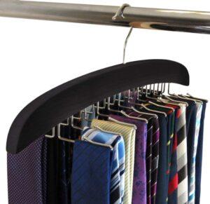 SUNTRADE Wooden Tie Hanger