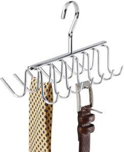 iDesign Axis Metal Tie Rack