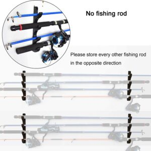 YYST Horizontal Fishing Rod Storage Rack