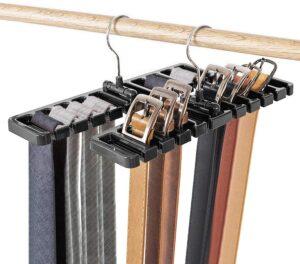DIOMMELL 2 PCS Belts Rack, Storage Organizer