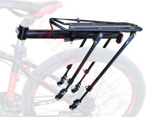 COMINGFIT Universal Adjustable Bicycle Luggage Cargo Rack