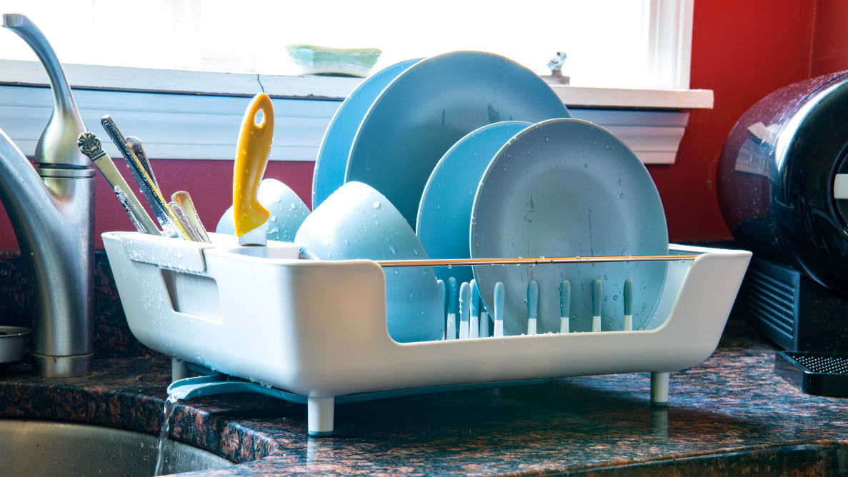 How to Clean and Care a Dish Drying Rack