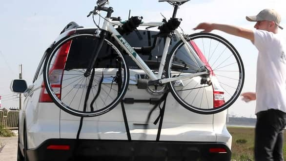 Different types of Bike racks available for SUVs